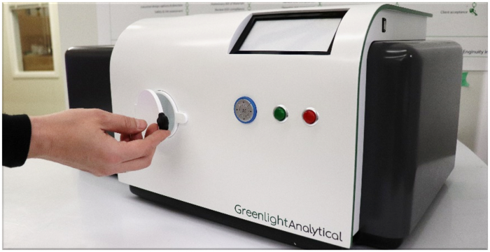 Greenlight Analytical's portable analyzer to measure cannabis safety and quality
