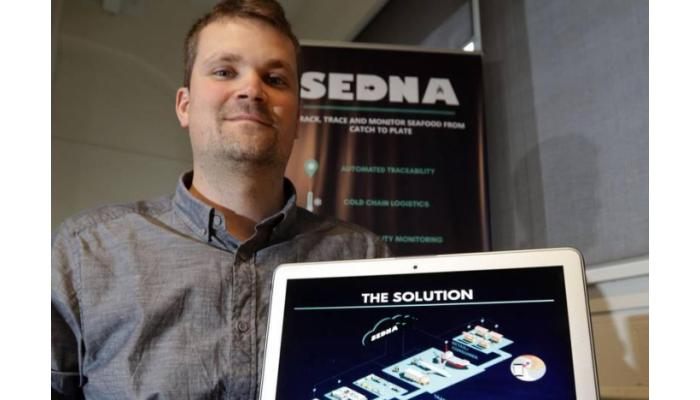 Sedna Technologies' traceability system for seafood, targeting the live lobster industry